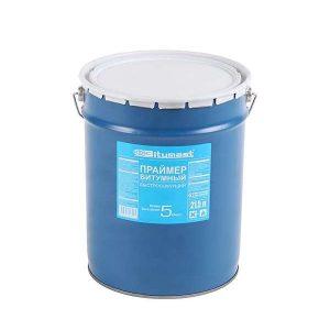 Праймер Bitumast битумный быстросохнущий 52 л / 45 кг