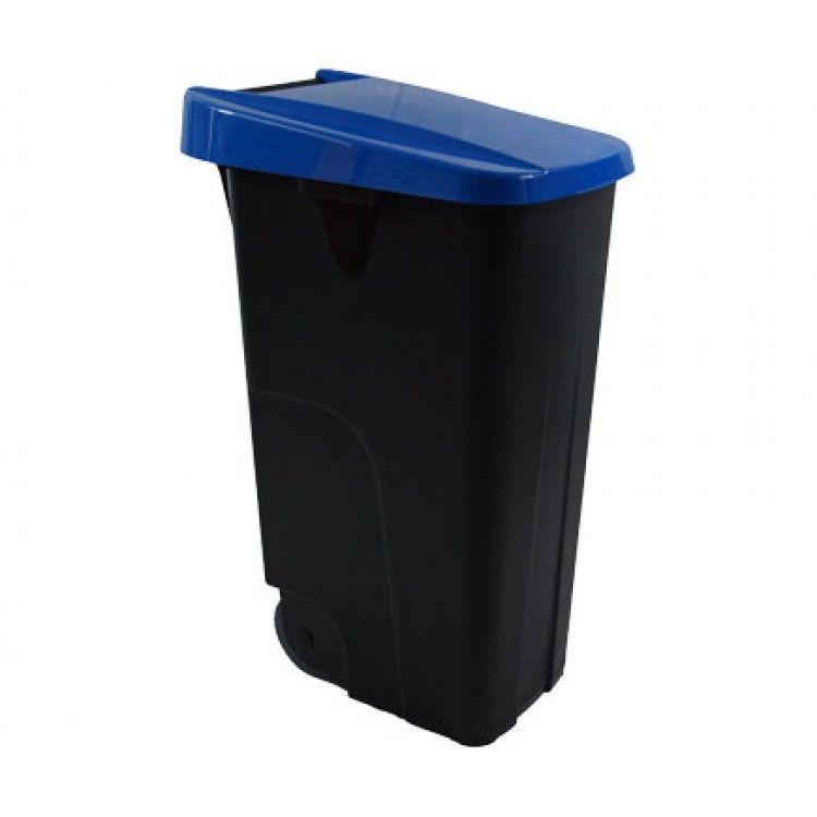 Бак для мусора на колесах 110 л. Denox (Синий)