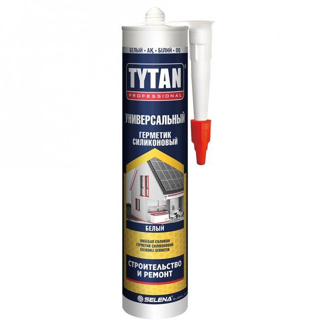 Герметик TYTAN Professional силиконовый Универсальный бесцветный 600мл*