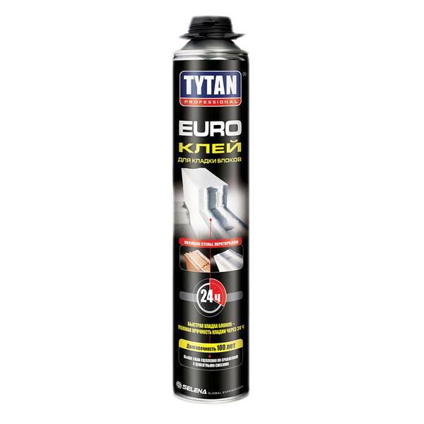 Клей для кладки блоков TYTAN Professional EURO GUN 870мл