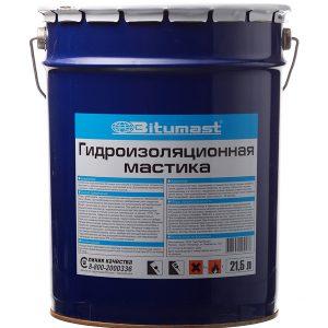 Мастика Bitumast резинобитумная 18 кг