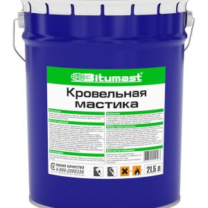 Мастика Bitumast кровельная 42 кг