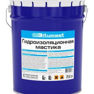 Мастика Bitumast гидроизоляционная 52 л / 47 кг
