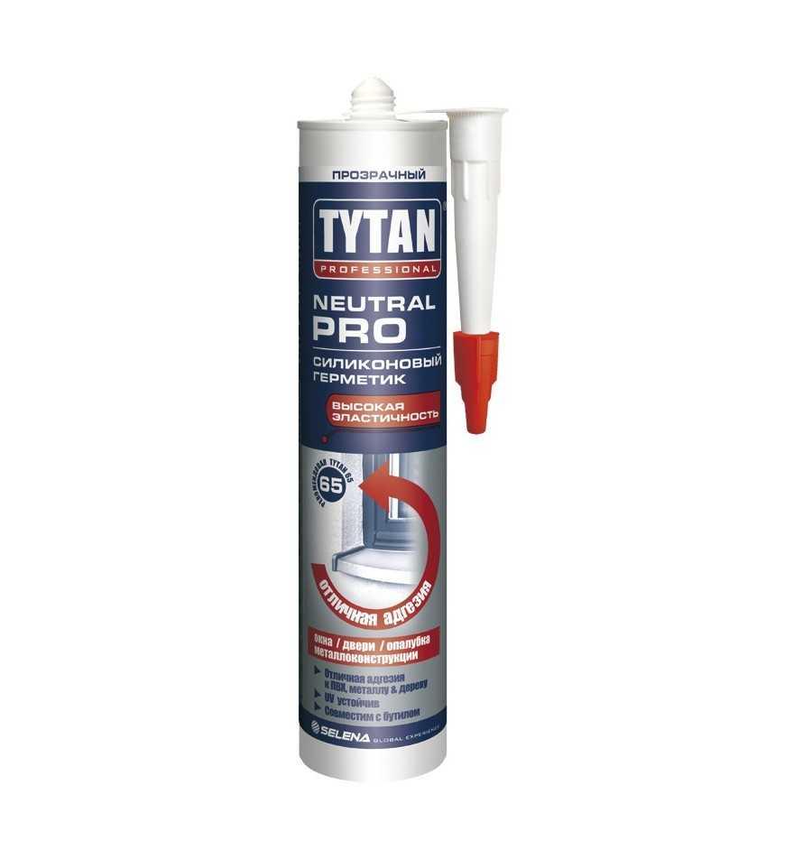 Герметик TYTAN Professional Neutral PRO силиконовый прозрачный 310мл