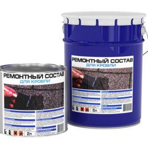Ремсостав Bitumast для швов в кровельном полотне 18 кг/м