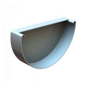Заглушка желоба LINKOR (120 типоразмеры) (алюминий толщина 1,2 мм)