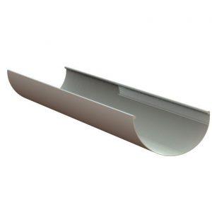Желоб водосточный LINKOR (150 типоразмеры)-L=3 м (алюминий толщина 1,2 мм)