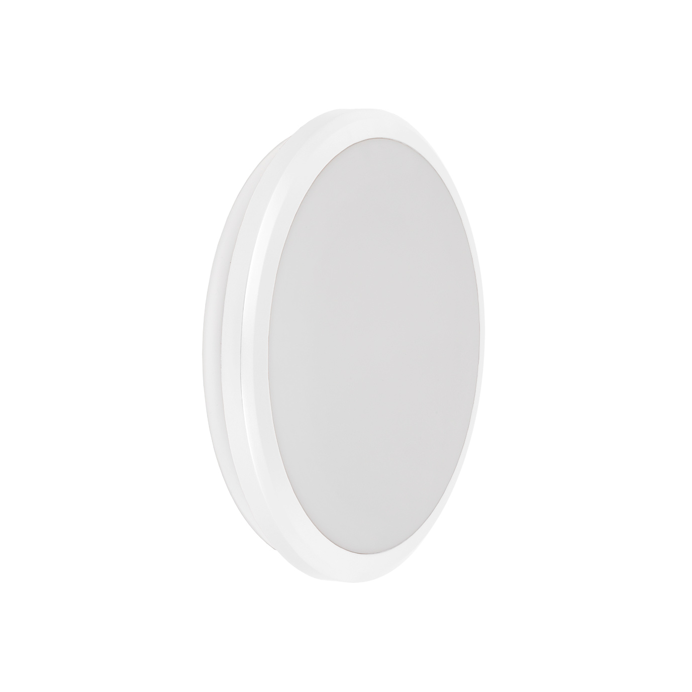 Светильник светодиодный ДПБ 3001 12Вт IP54 4000K круг белый IEK