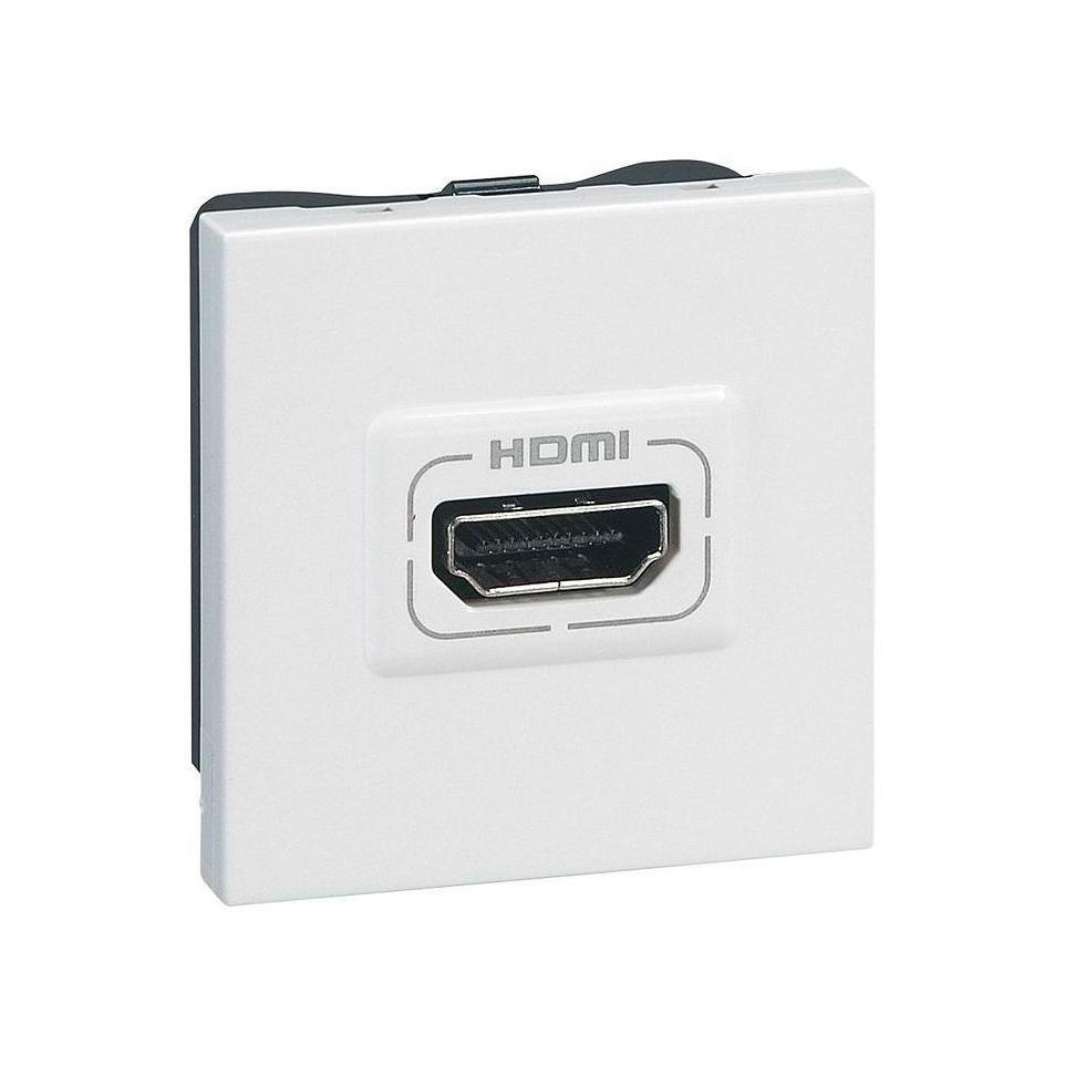 Розетка HDMI Legrand MOSAIC, белый