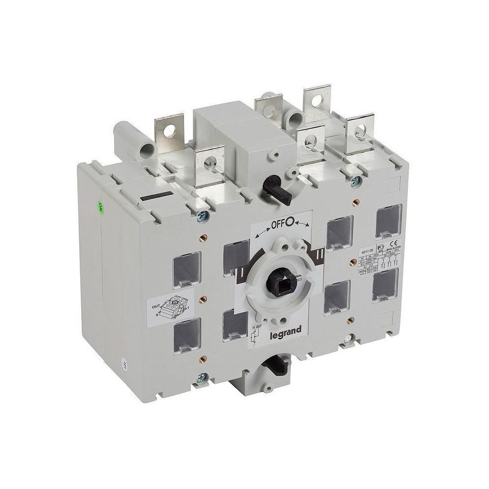 Реверсивный рубильник Legrand DCX-M 200А 3P, фронтальное исполнение