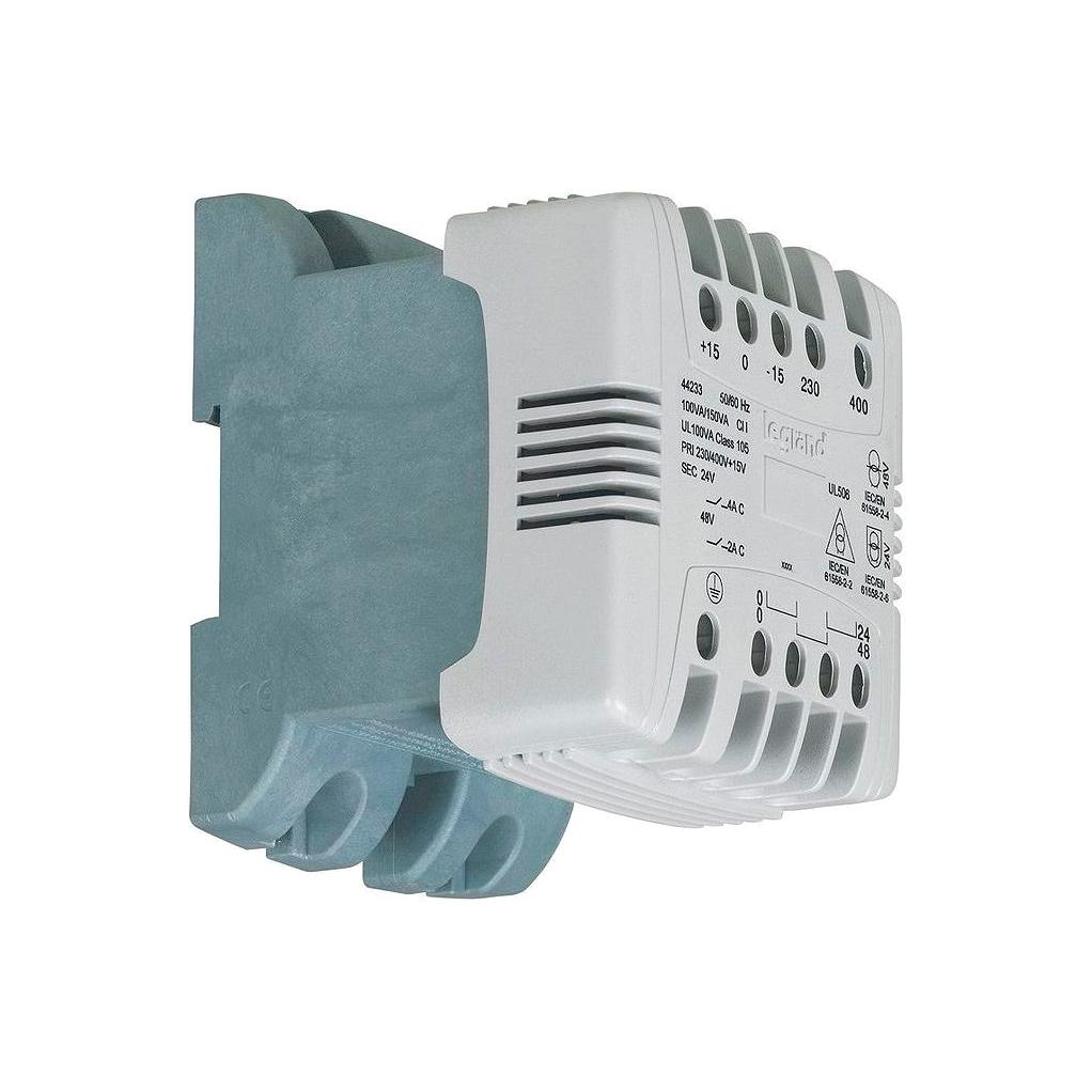 Однофазный трансформатор упр, и разд, цепей - первичная обмотка 230//400 В // вторичная обмотка 115//23