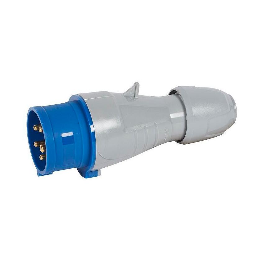 Вилка прямая - P17 Tempra Pro - IP 44 - 200//250 В~ - 16 A - 3К+Н+З