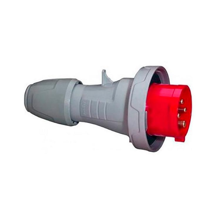 Вилка прямая - P17 Tempra Pro - IP 66//67 - 200//250 В~ - 16 A - 3К+З