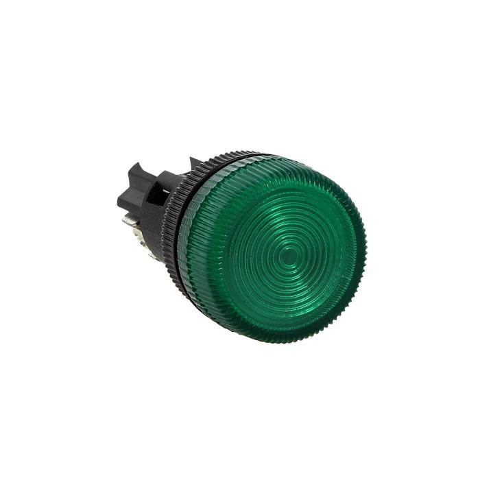 Лампа сигнальная ENS-22 зеленая 24В EKF PROxima