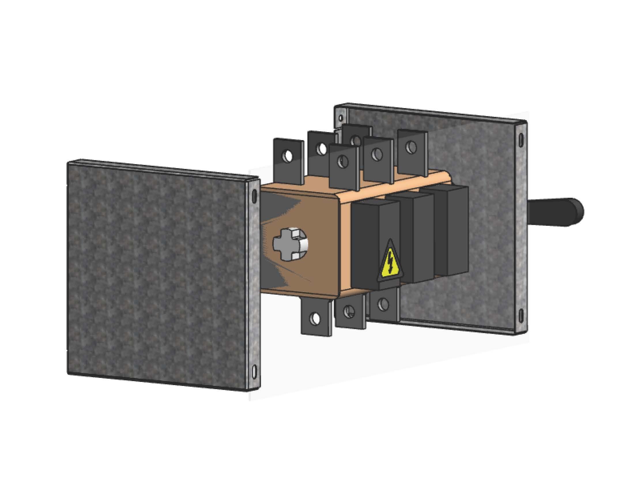 Экран для кожуха рубильника для ВРУ Unit шириной 450ммEKF PROxima
