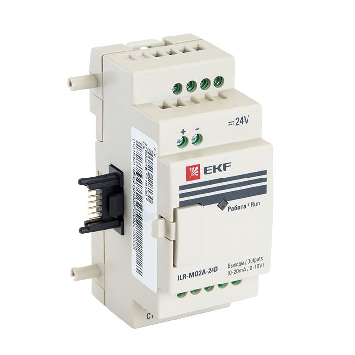 Модуль аналогового вывода 2 24В PRO-Relay EKF PROxima