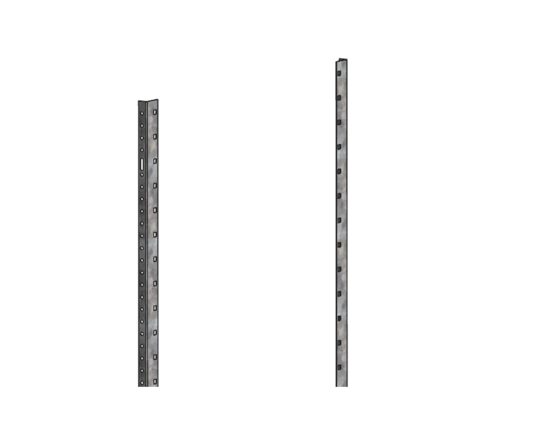 Держатель пластронов высотой 1800 мм для ВРУ Unit EKF PROxima