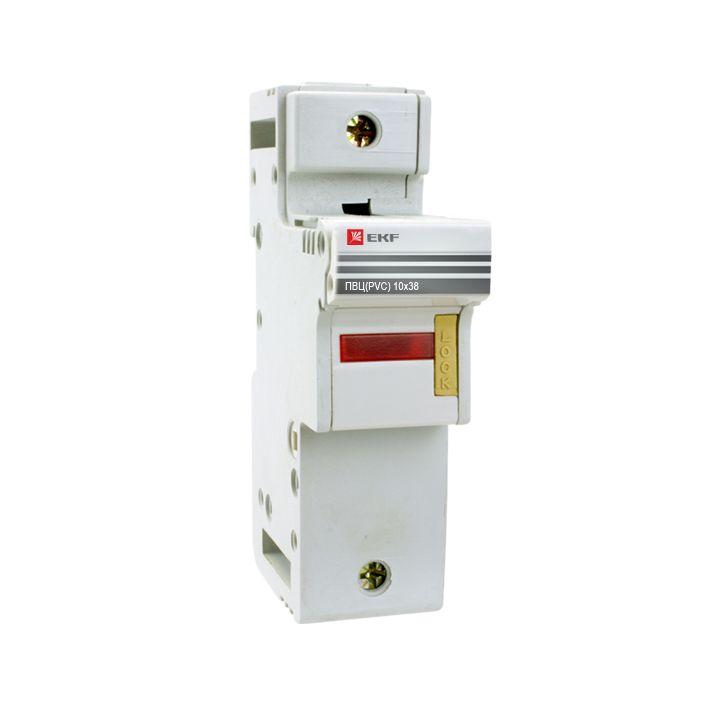Предохранитель-разъединитель для ПВЦ 10x38 1P (с индикацией) EKF PROxima