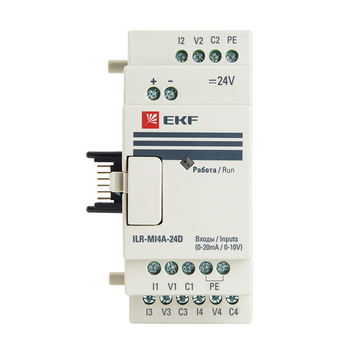 Модуль аналогового ввода 4 24В PRO-Relay EKF PROxima