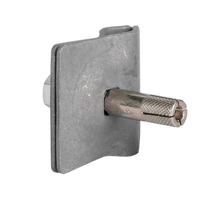 Зажим прута универсальный lp-g3103 (45x45мм) с анкером HZ EKF PROxima
