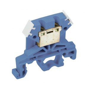 Зажим наборный ЗНИ-4мм2 (JXB35А) синий IEK