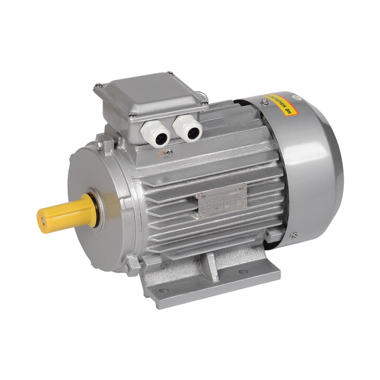 Электродвигатель асинхронный трехфазный АИР 100L8 380В 1,5кВт 750об/мин 1081 DRIVE IEK