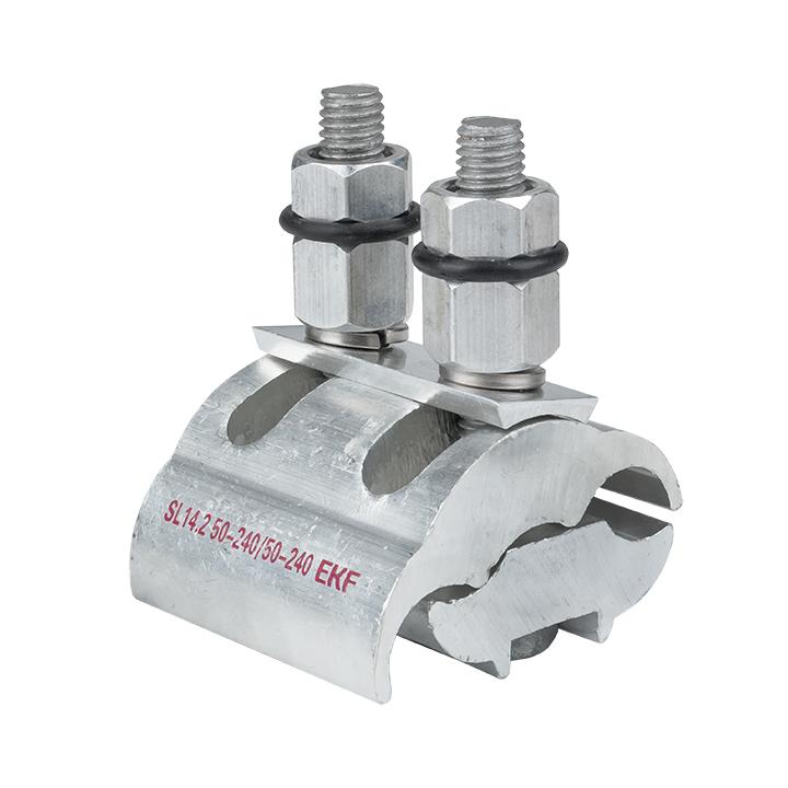 Зажим ответвительный плашечный SL14.2 50-240 мм2 / 50-240 мм2 EKF PROxima