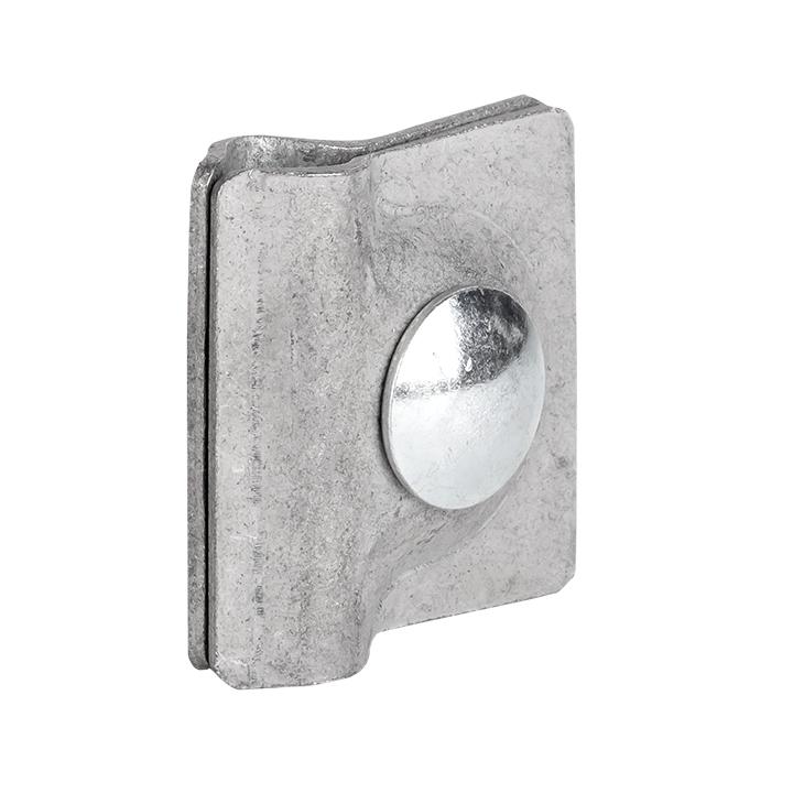 Зажим прута универсальный (пластина 45х45мм) HZ EKF PROxima