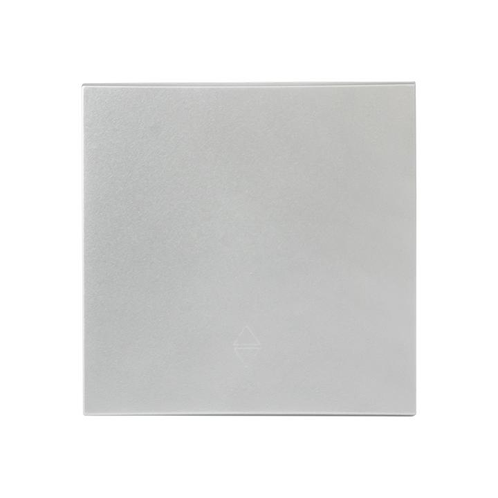 Валенсия лицевая панель  выключателя 1-кл. 10А сталь  EKF  PROxima
