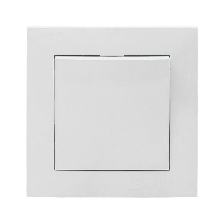 Валенсия выключатель 1-кл. 10А белый EKF PROxima