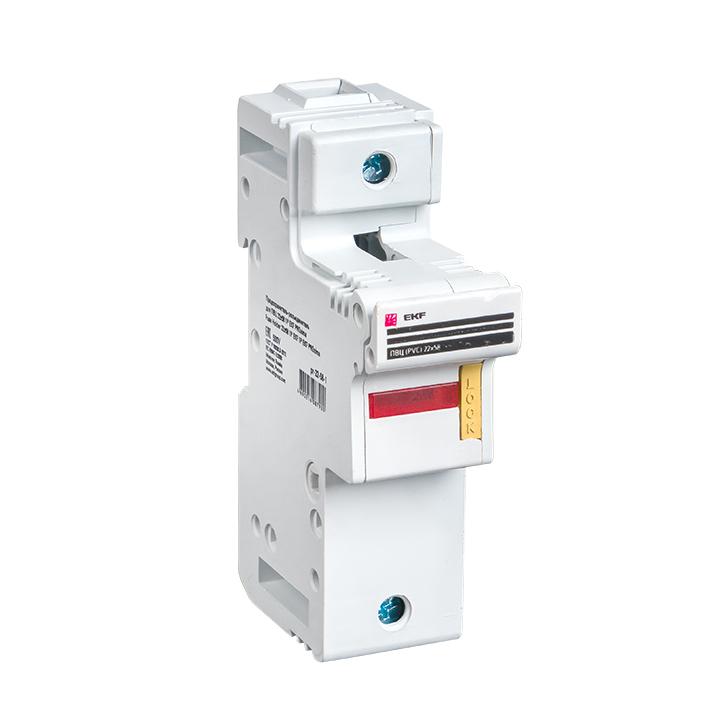 Предохранитель-разъединитель для ПВЦ 22x58 1P (с индикацией) EKF PROxima