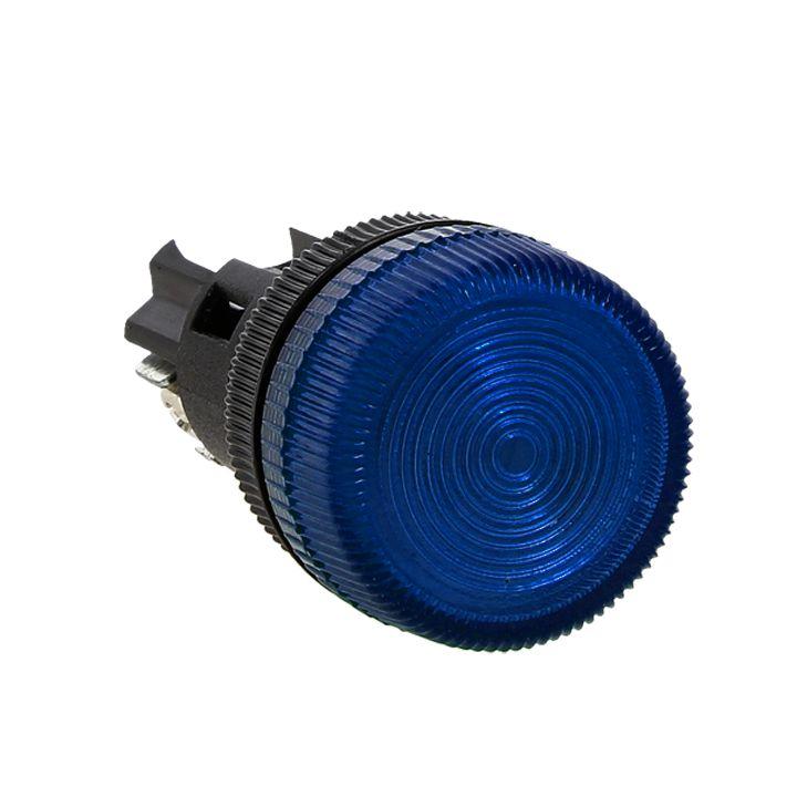 Лампа сигнальная ENS-22 синяя 220В EKF PROxima