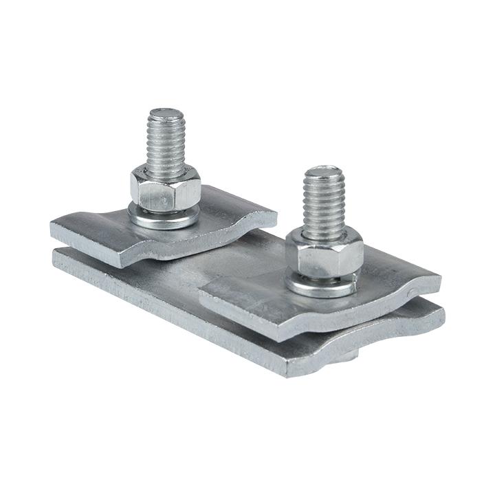 Зажим соединительный плашечный 2 болта М6 (D провода 5,5...8,6 мм) ПС-1-1 EKF PROxima
