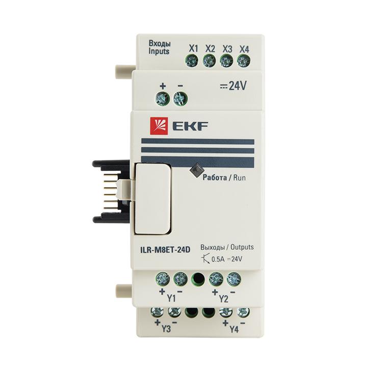 Модуль дискретного в/в т 4/4 24В PRO-Relay EKF PROxima
