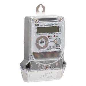 Счетчик электрической энергии однофазный многотарифный STAR 104/1 С3-10(100)Э 4ШИО IEK