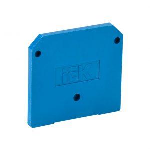Заглушка для ЗНИ-35мм2 (JXB125A) синяя IEK