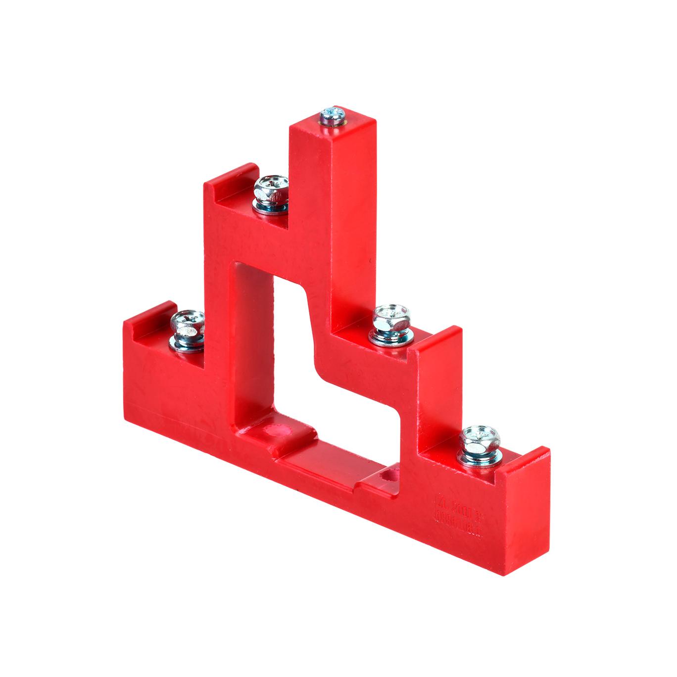 Изолятор ступенчатый ИС4-25/1-15 (4xМ6; 1xМ5) силовой с болтом IEK