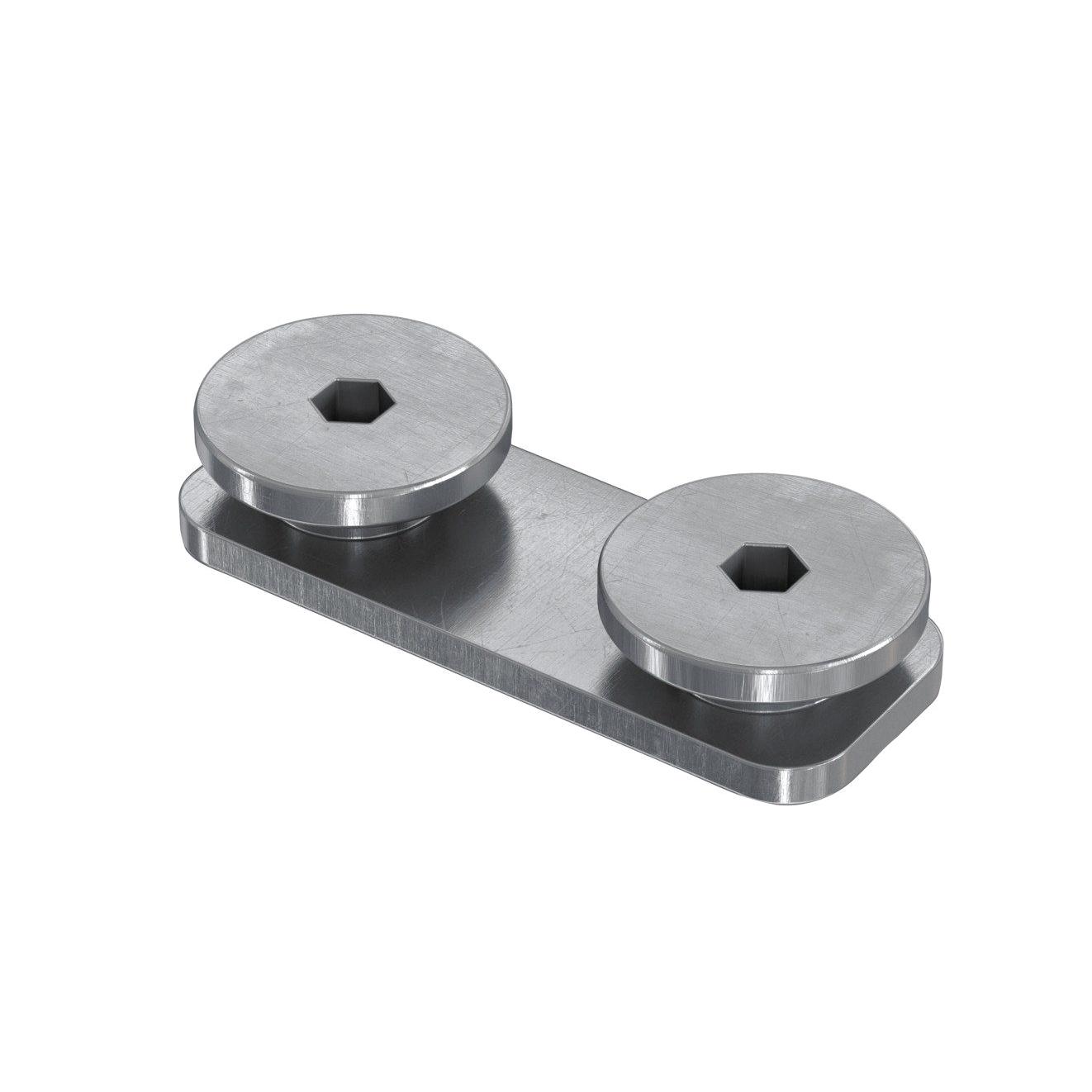 FDCC (20x53 мм) Соединитель Fischer для профилей FUS